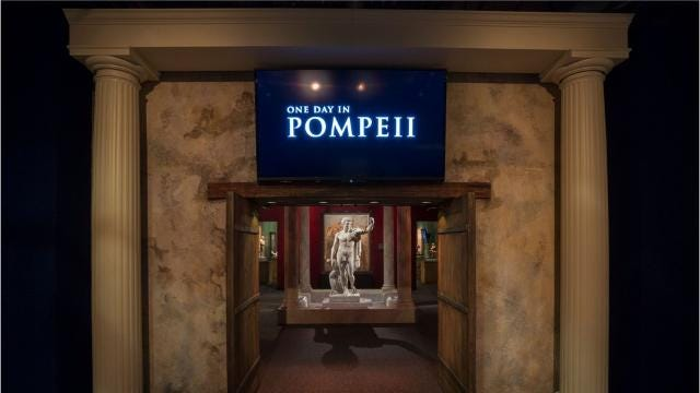 4 reasons to see Pompeii:The Exhibition at the Arizona Science Center