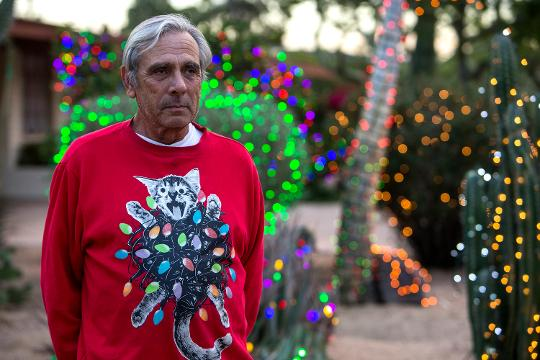 An Arcadia resident halts a popular Christmas lights display after complaints. Sean Logan/azcentral.com