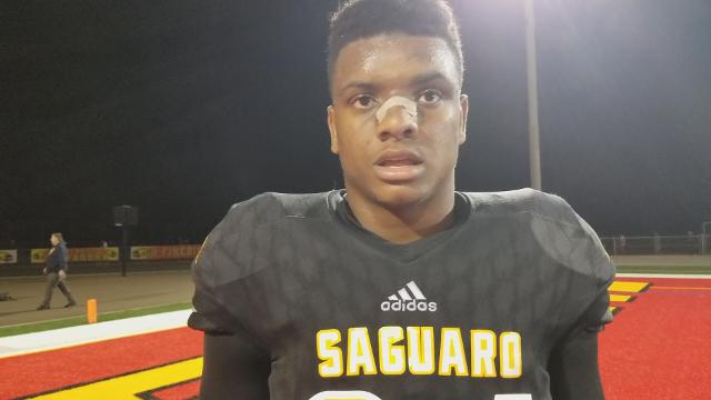 Josiah Bradley on Saguaro's semi-final playoff win
