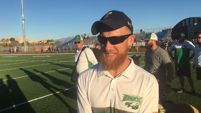 Thatcher coach Sean Hinton on playoff win