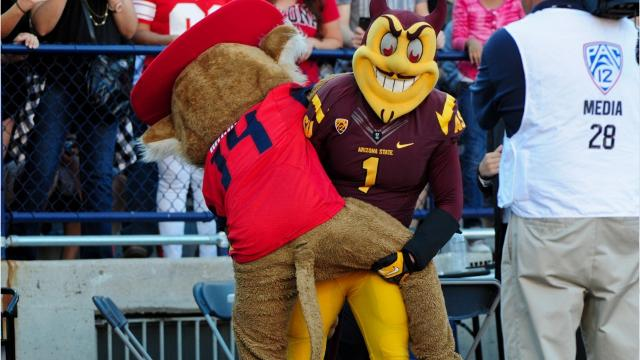 ASU. UA. They'll fight for Arizona Supremacy on Saturday in the 91st Territorial Cup.