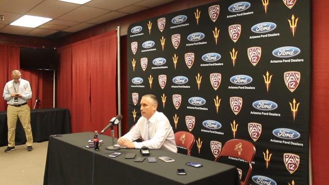 Bobby Hurley talks after win over UCI