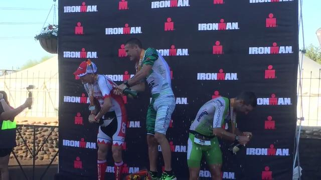 Lionel Sanders earns third consecutive Ironman Arizona title as Kaisa Sali wins women's crown on Sunday in Tempe.