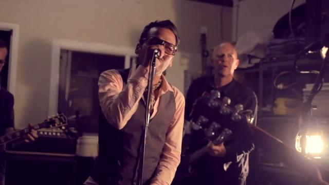 """Brothers and Pistoleros members Mark and Lawrence Zubia perform in their music video for """"I'm Concerned."""""""