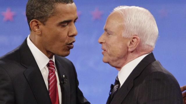 John McCain runs for president again in 2008