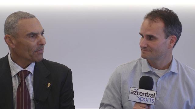 azcentral sports interviews new Sun Devils coach Herm Edwards