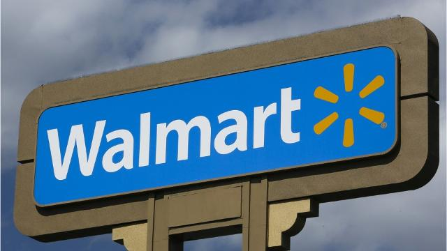Walmart announced that soaring online purchases have caused delays in its distribution network.