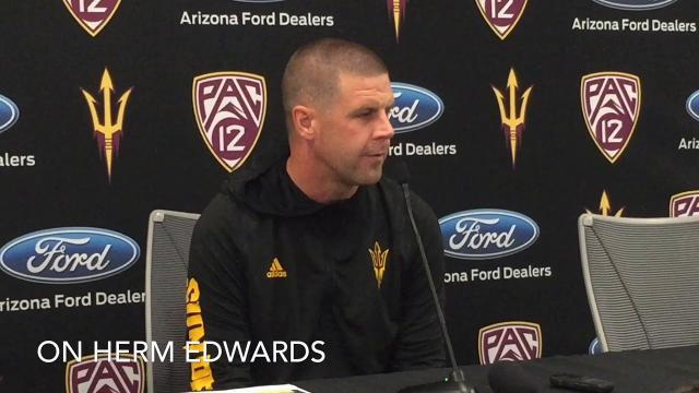 ASU offensive coordinator Billy Napier