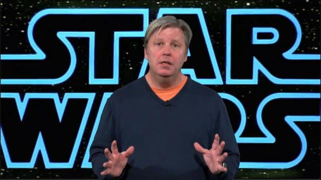 The history of Star Wars in one minute