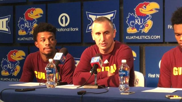 Bobby Hurley on ASU's 'special' win at Kansas