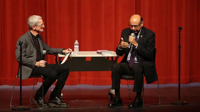 Khizr Khan talks about why he decided to speak at the Democratic National Convention
