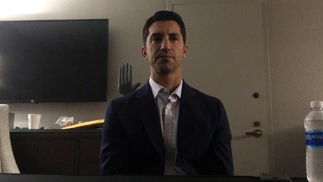 GM Mike Hazen on Day 3 of winter meetings
