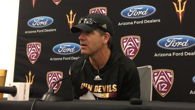 ASU offensive coordinator Rob Likens on his promotion