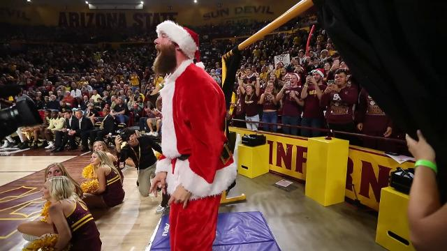 Archie Bradley joins ASU's Curtain of Distraction