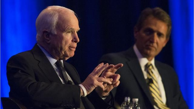 Arizona Sens. John McCain and Jeff Flake stood for decency and urged us to work together, no matter the personal costs.