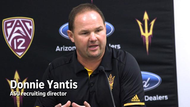 ASU's Edwards, Yantis on recruiting