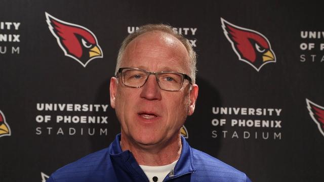 Cardinals report: Kent Somers on Thursday's practice