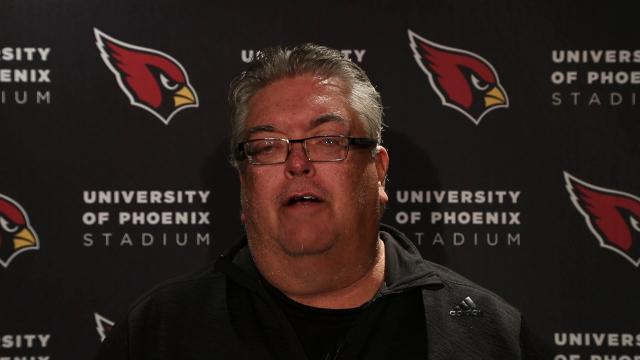 Bob McManaman from azcentral sports has the latest on Cardinals coach Bruce Arians and injuries suffered in the win over the Giants.