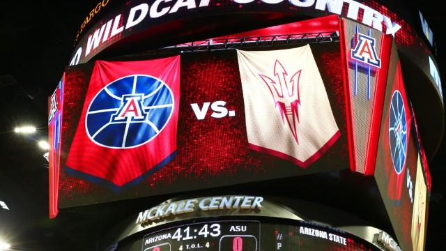 No. 3 ASU visits No. 17 Arizona in what is likely the marquee matchup in college basketball on Saturday. Let's preview the game by taking a look at some numbers.