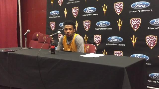 ASU's Shannon Evans on starting Pac-12 play