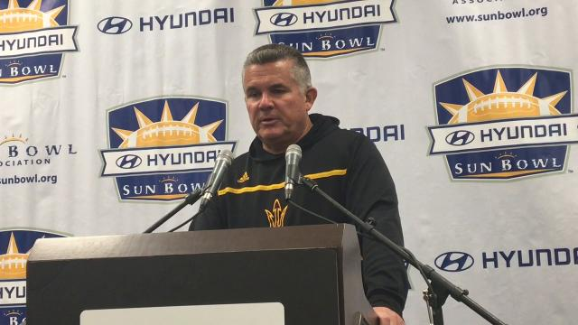 Graham speaks after final game as ASU coach