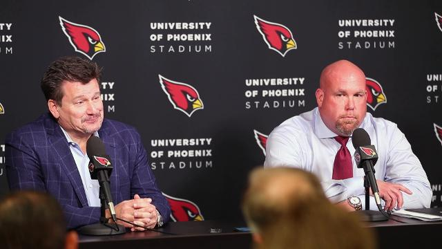 Cardinals president Michael Bidwill and GM Steve Keim plan their search for Bruce Arians' replacement. Michael Chow/azcentral sports