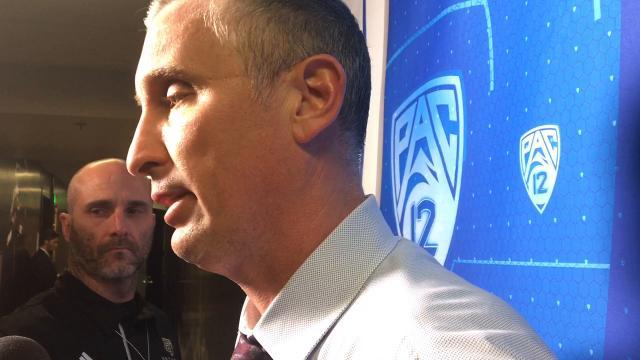 ASU coach Bobby Hurley discusses an upset loss to Colorado on Thursday.