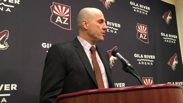 Rick Tocchet on Coyotes' loss to Rangers