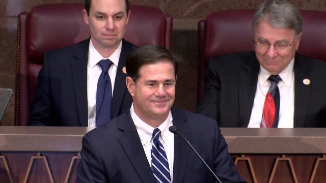 Excerpt from Gov. Ducey's State of the State address
