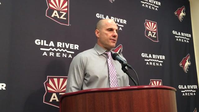 Coyotes head coach Rick Tocchet on shootout loss to Sharks