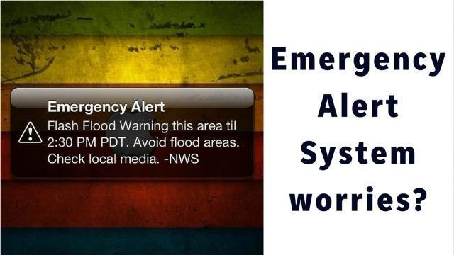 Could a false emergency alert be sent in Arizona?