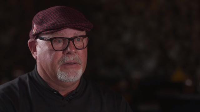 "Bruce Arians ""I don't think you can live with regrets...I have nothing but great memories."""