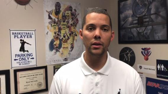 American Leadership Academy head coach Ryan McCurdy talks about how his team needs to improve moving forward.