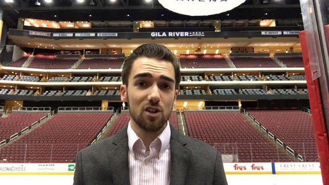 Coyotes insider Richard Morin breaks down Arizona's overtime win over the Islanders on Monday.