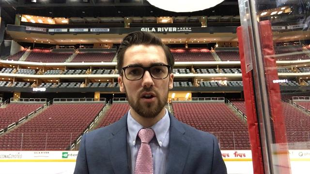 Coyotes reporter Richard Morin on the plus and minus from a loss to the Blue Jackets.