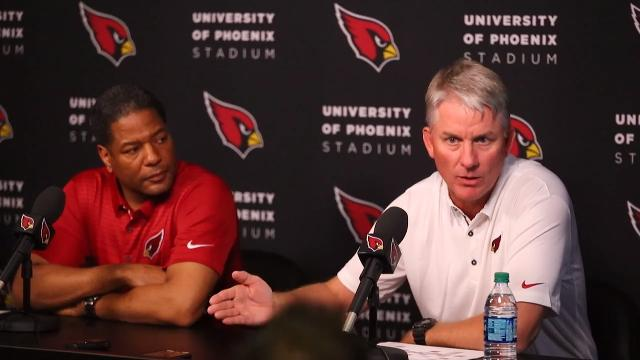 Cardinals introduce Mike McCoy as offensive coordinator