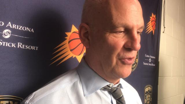 """Triano: """"We have a lot of talent in the locker room tonight."""""""