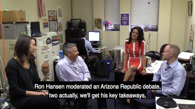 The Republic's politics team talks about Gov. Doug Ducey's special session on opioids, the 8th Congressional District debates and an effort to create an observance day in Arizona for Native Americans on Tuesday, Jan. 30, 2018. Carly Henry/azcentral