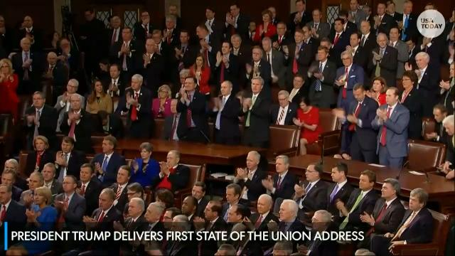 President Donald Trump outlined a 4-pillar immigration plan during his first State of the Union speech on January 30, 2018.
