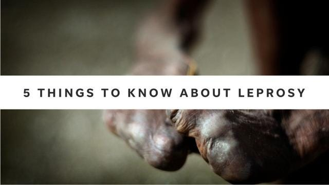 5 things to know about leprosy