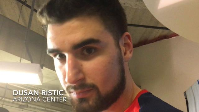 Ristic discusses Arizona's defensive challenges, particularly those at the end of the game.