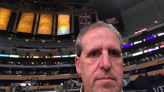Suns insider Scott Bordow reports on Dragan Bender's start against the Lakers on Tuesday night.