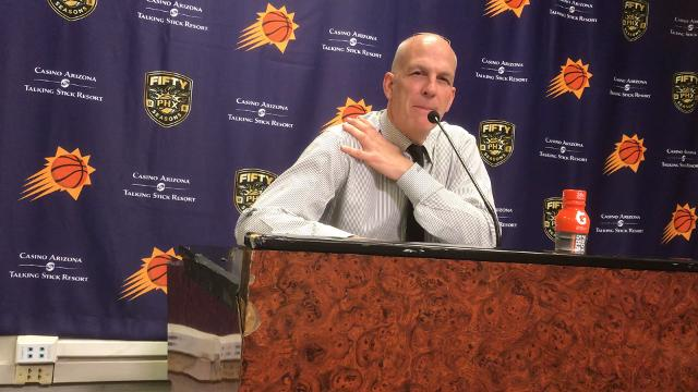 Suns interim coach Jay Triano on his team's blowout loss to the Spurs on Wednesday.