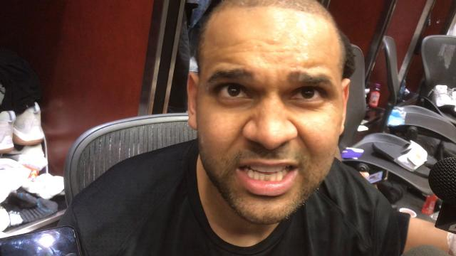 Dudley on Suns' blowout loss to Spurs
