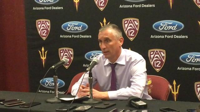 ASU basketball coach Bobby Hurley discusses his team's big win over USC on Thursday night.