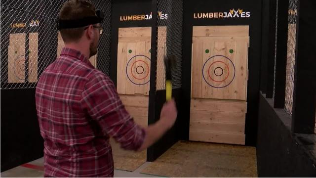 LumberjAxes in Tempe lets you throw axes at a target. It's fun.