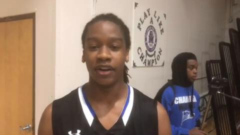 Chandler guard Mike Anderson breaks down playoff win at Millennium