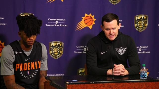Suns GM Ryan McDonough introduces Elfrid Payton as the team comes into the last 26 games of the season.