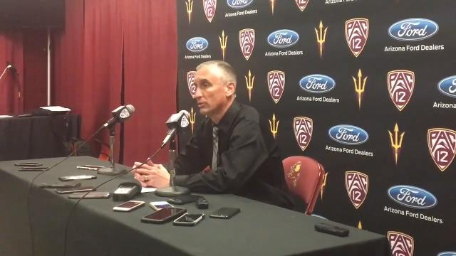 "ASU coach Bobby Hurley on the Sun Devils' ""comfortable"" win over UCLA on Saturday for their first weekend-series sweep under Hurley."