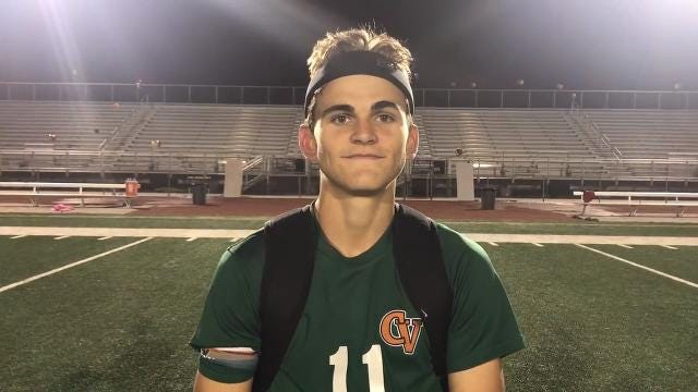 Campo Verde senior forward Blaise Hale talks about his team's 5A state championship win over Chaparral on Saturday.